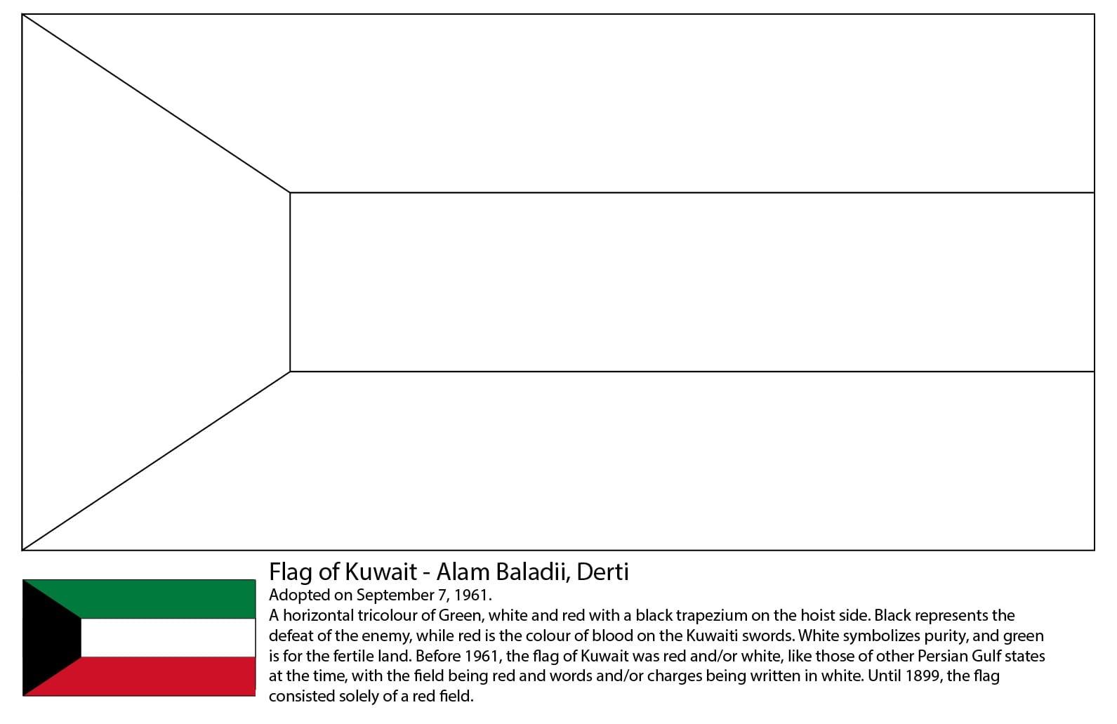 Kuwai Flag