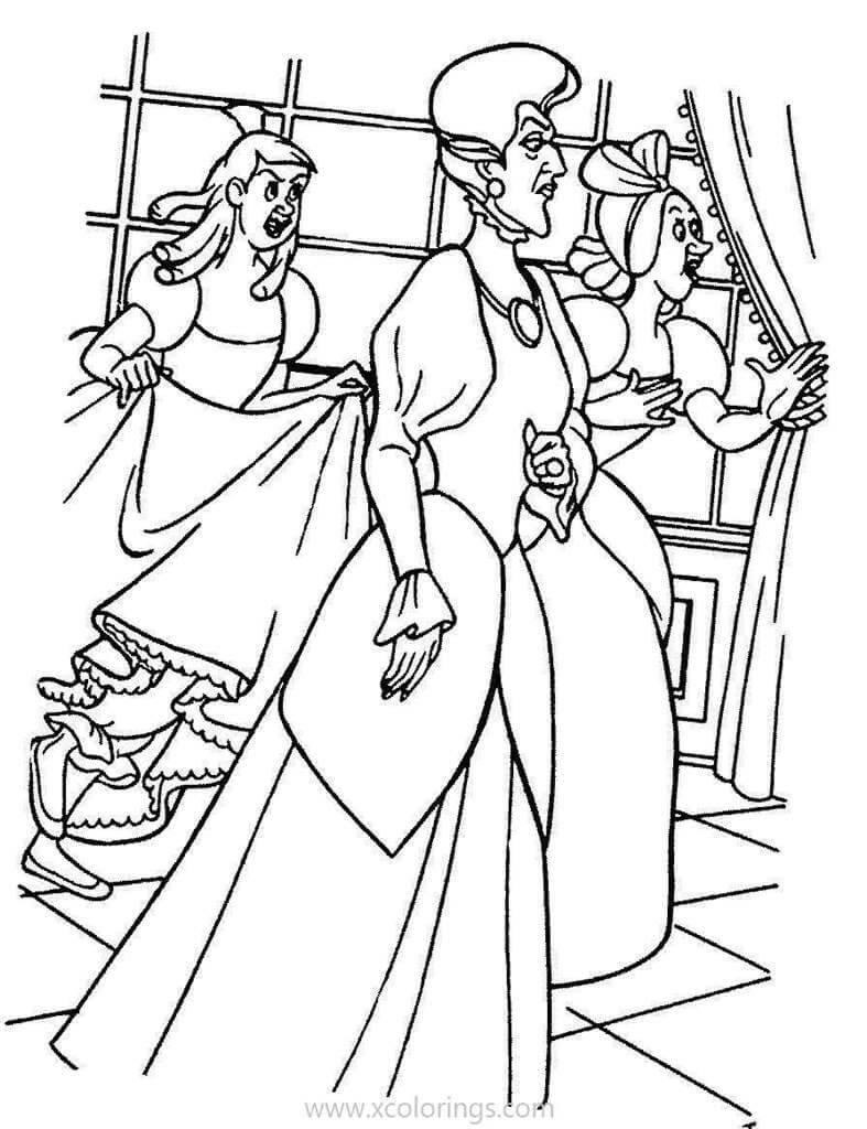 Lady Tremaine Disney Villain