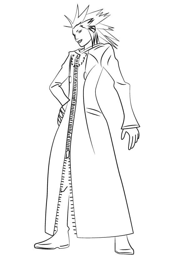 Lea from Kingdom Hearts