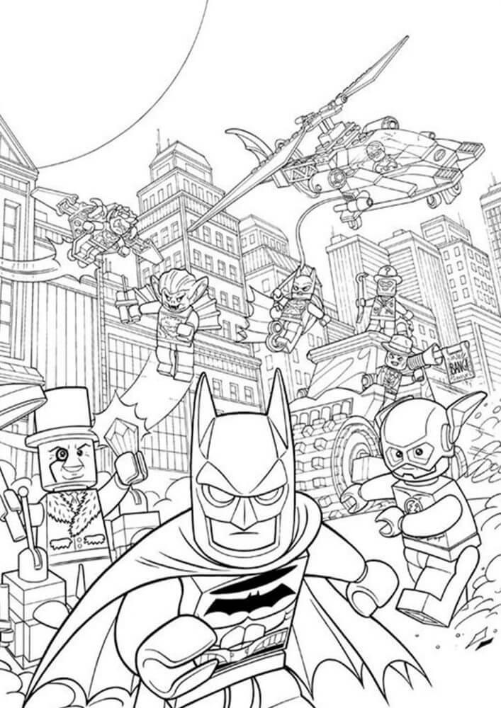 Lego Batman in City
