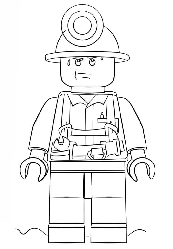 Lego City Miner