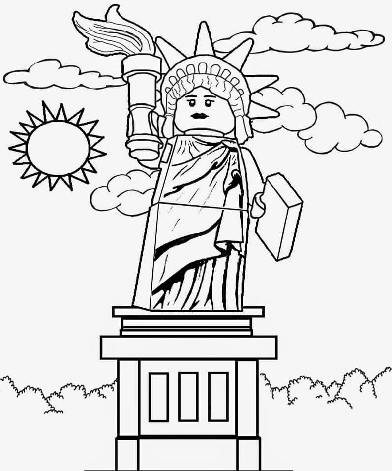 Lego City Statue of Liberty