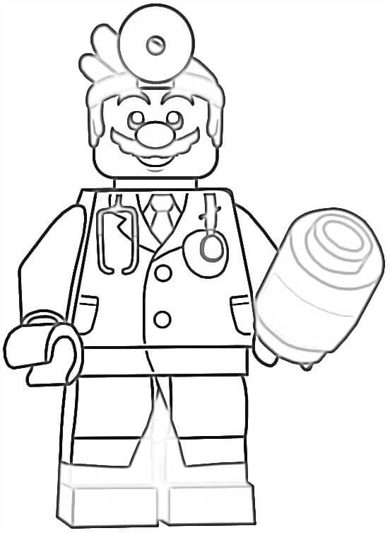 Lego Dr. Mario