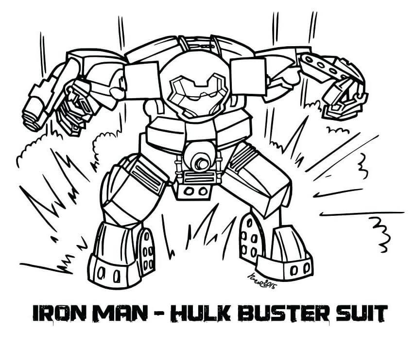 Lego Iron Man Hulkbuster