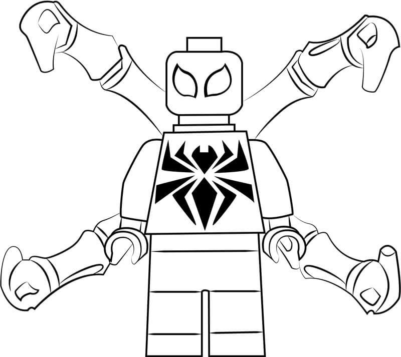 Lego Iron Spiderman 1