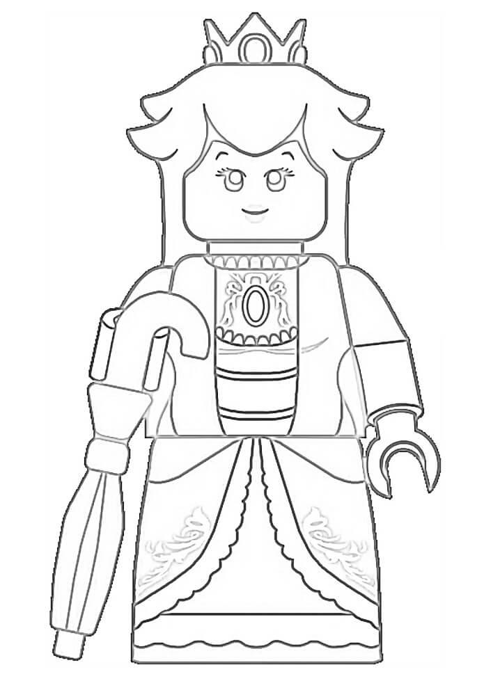 Lego Princess Peach 1