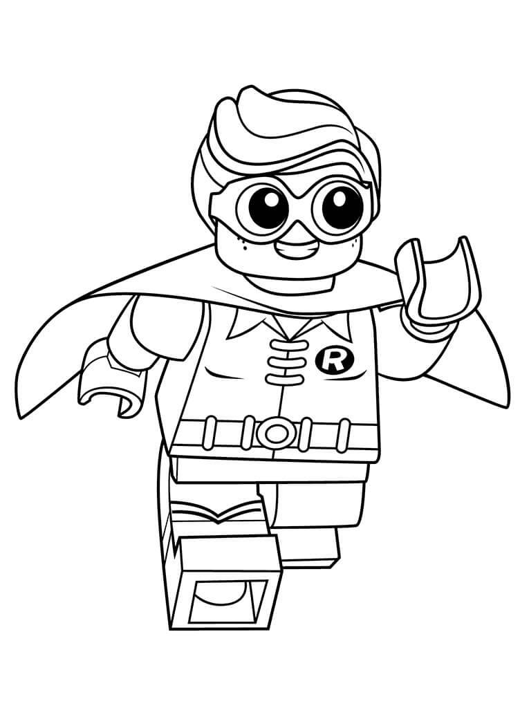 Lego Robin Running