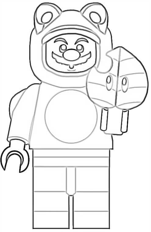 Lego Tanooki Mario