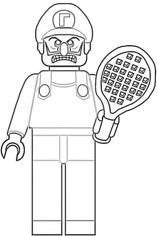 Lego Waluigi