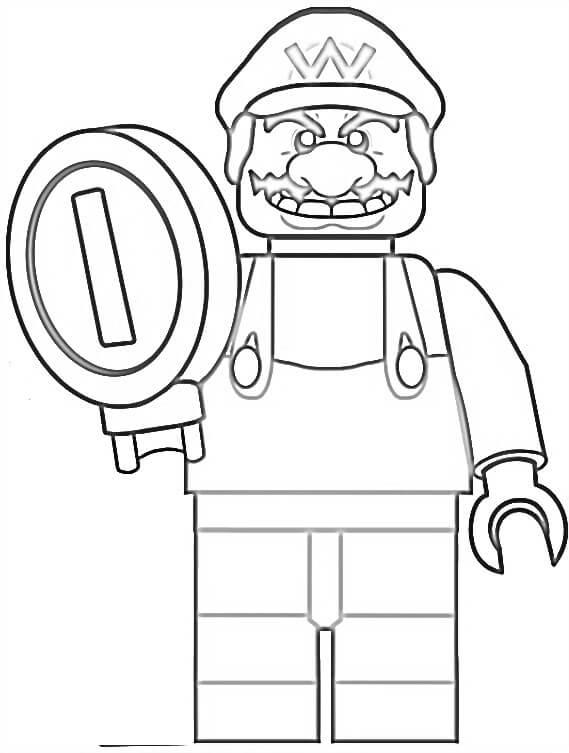 Lego Wario
