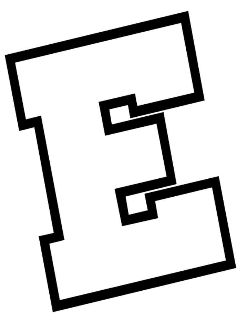 Letter E 5