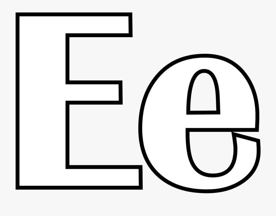 Letter E 8