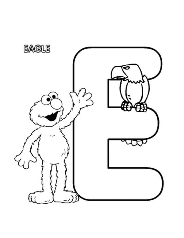 Letter E 9