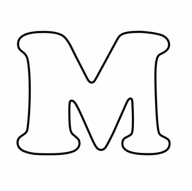 Letter M 9