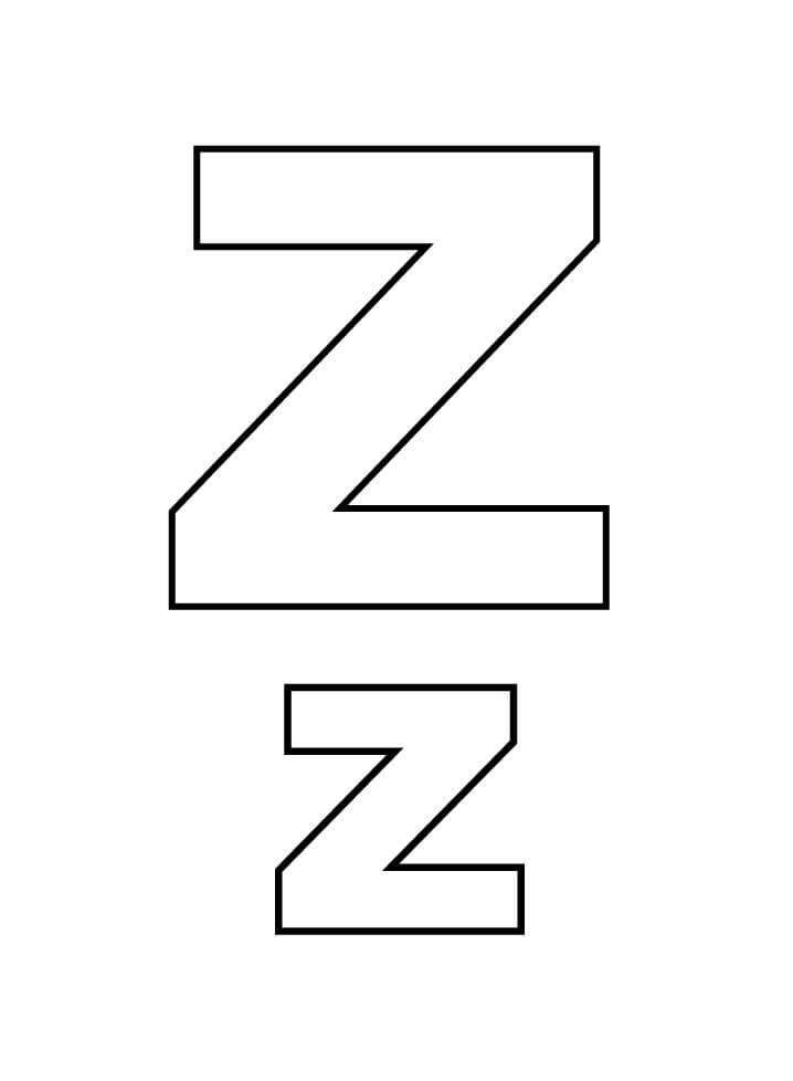 Letter Z 1