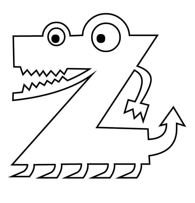 Letter Z 3