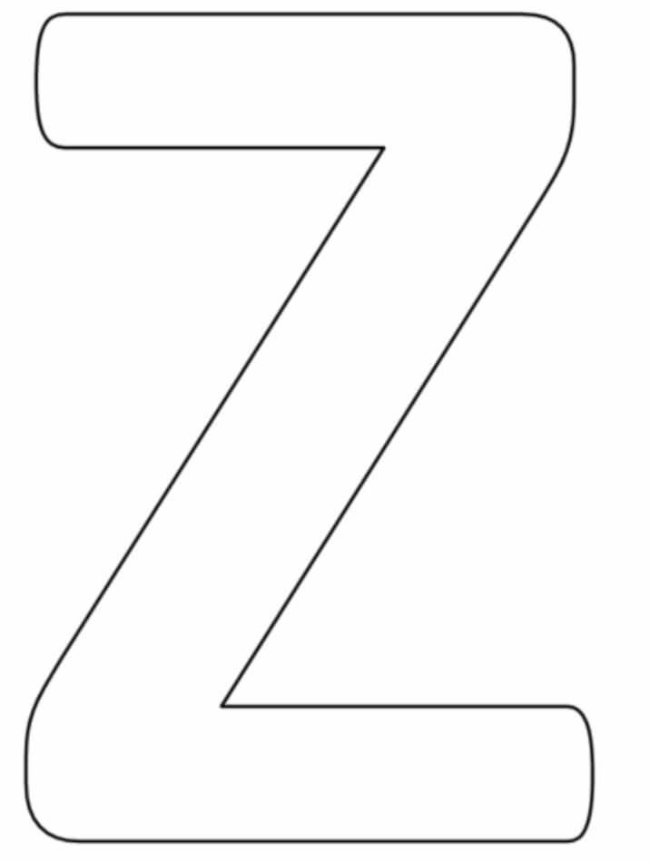 Letter Z 4