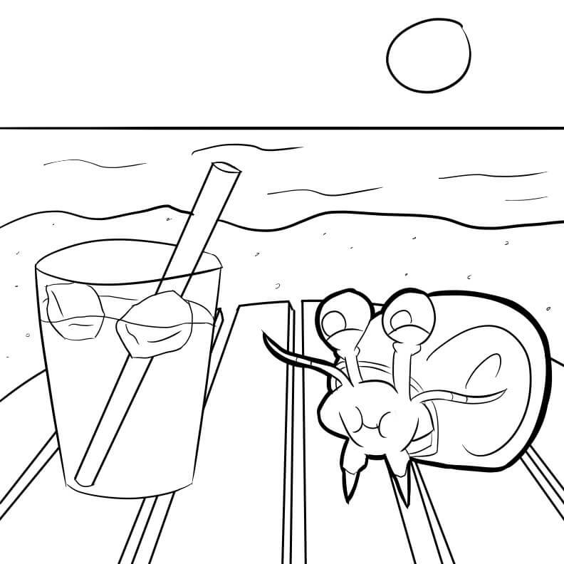 Little Hermit Crab