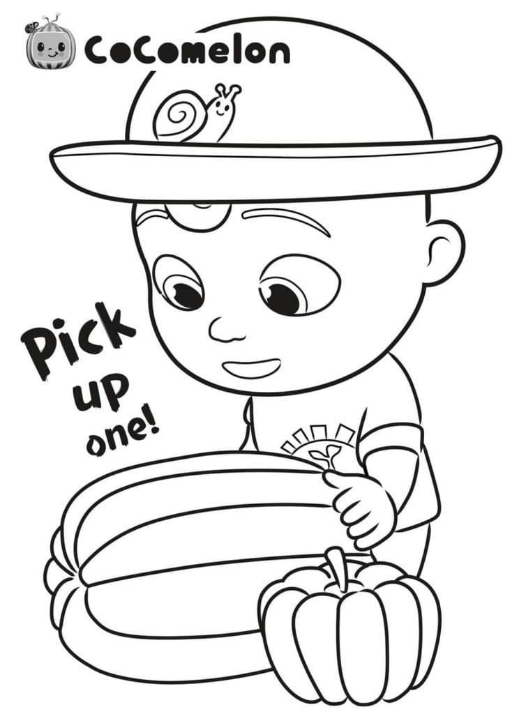 Little Johnny and Pumpkin