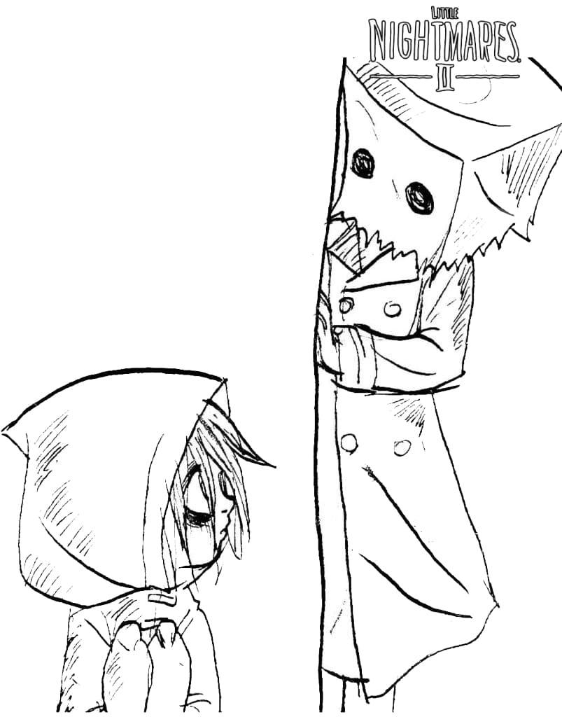 Little Nightmares Six and Mono