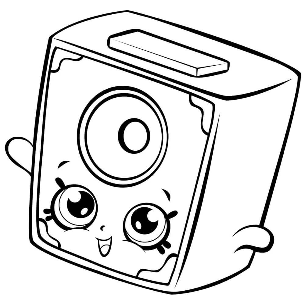 Little Squeeky Speaker Shopkin