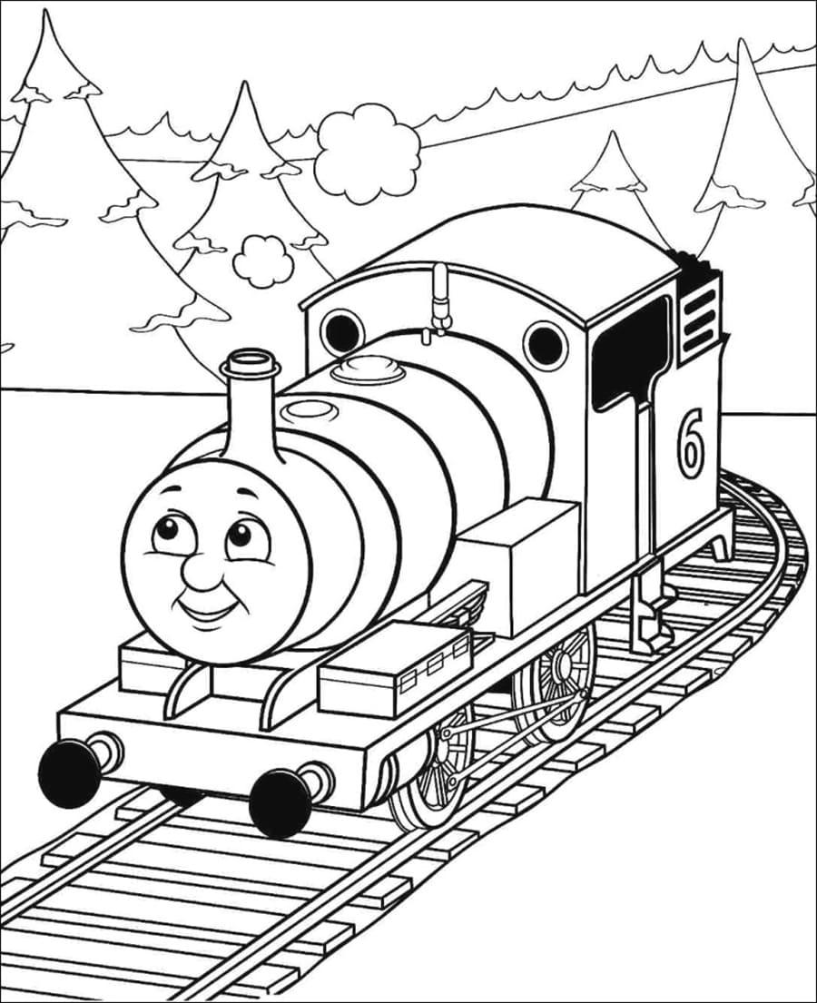 Locomotive number 6