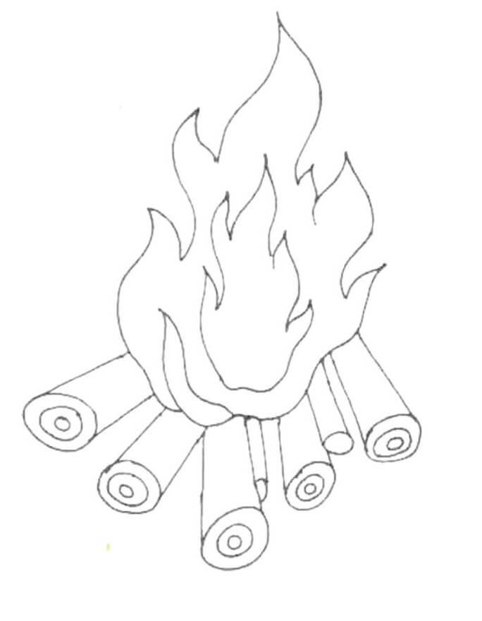 Lohri Fire