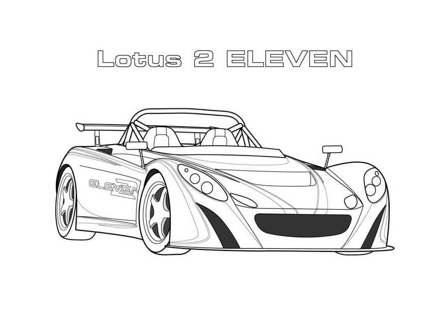 Lotus 2 Eleven Race Car