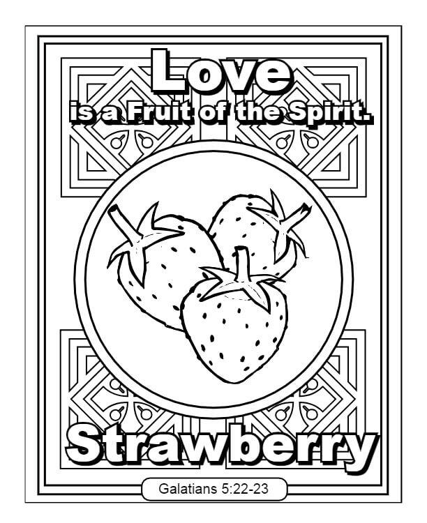 Love Fruit of the Spirit