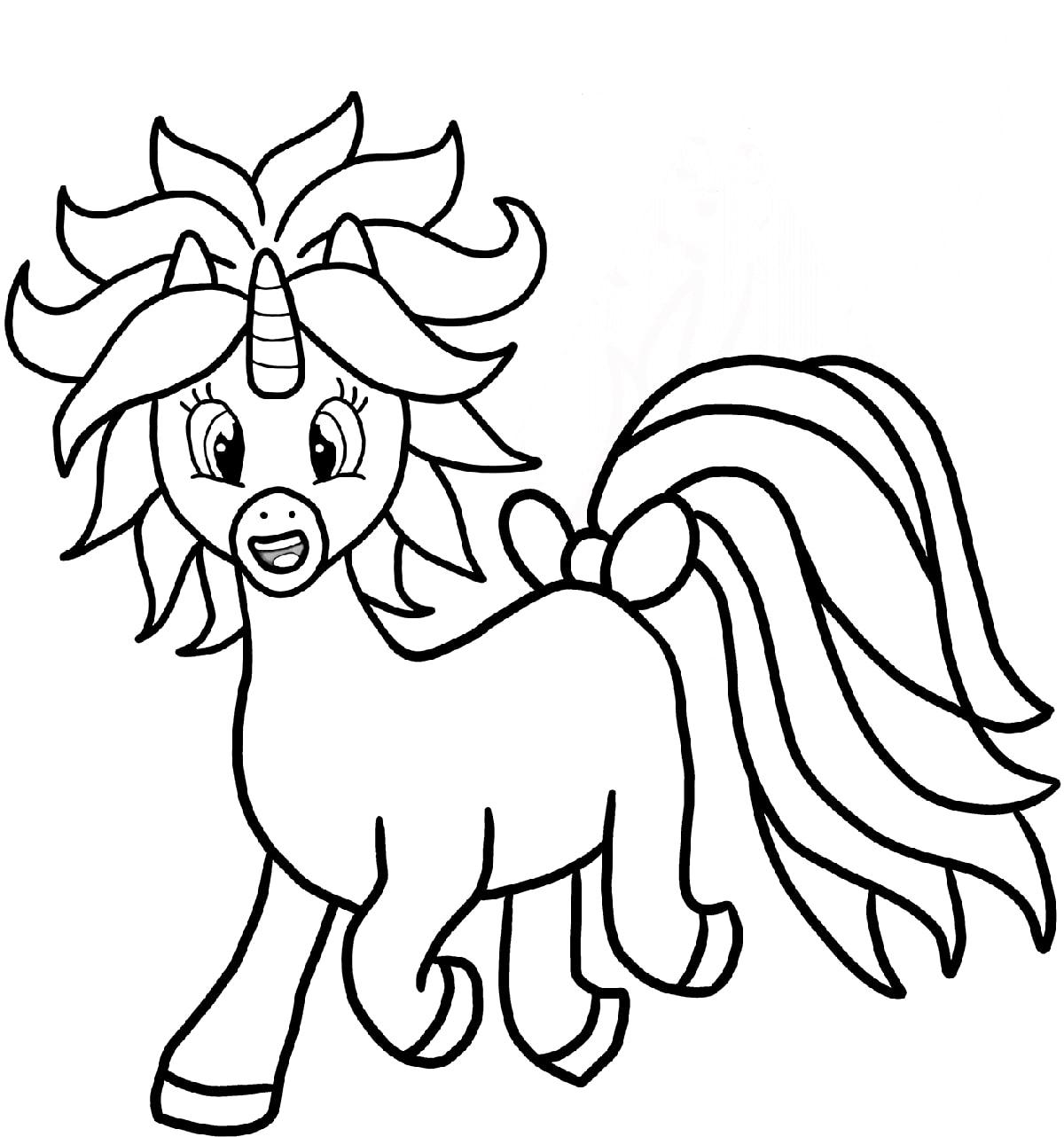 Lovely Baby Unicorn