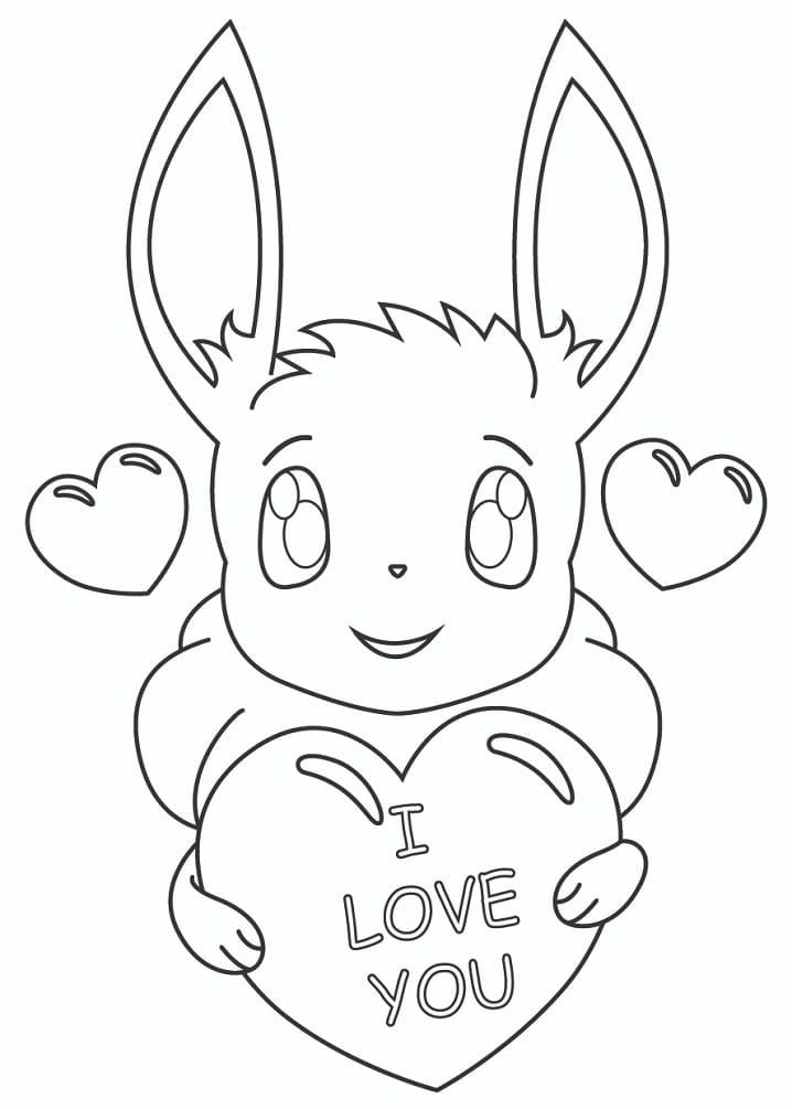 Lovely Pokemon Eevee