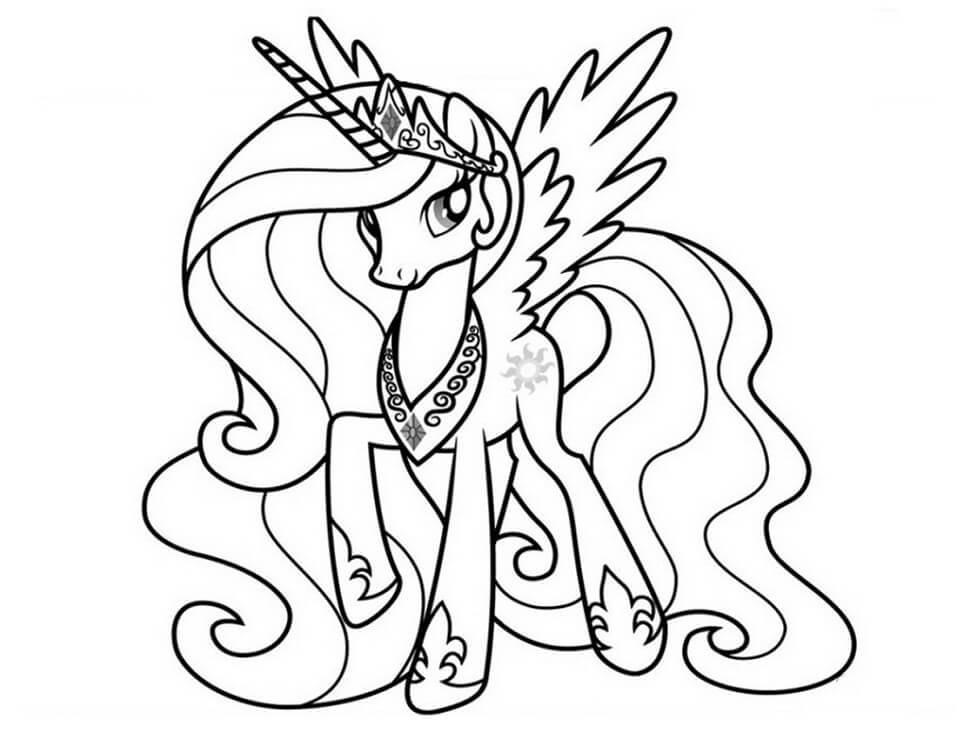 Lovely Princess Celestia