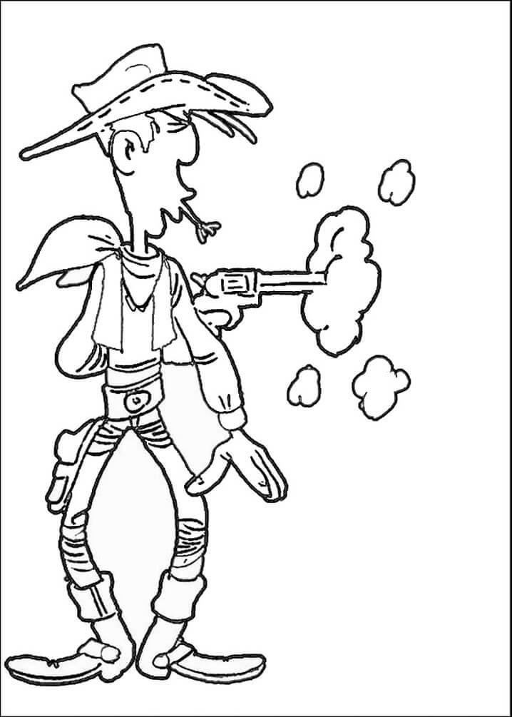 Lucky Luke Shooting