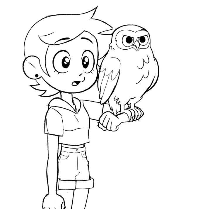 Luz Noceda and Owlbert