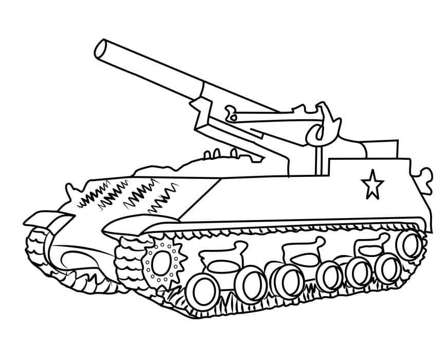 M43 Army Tank
