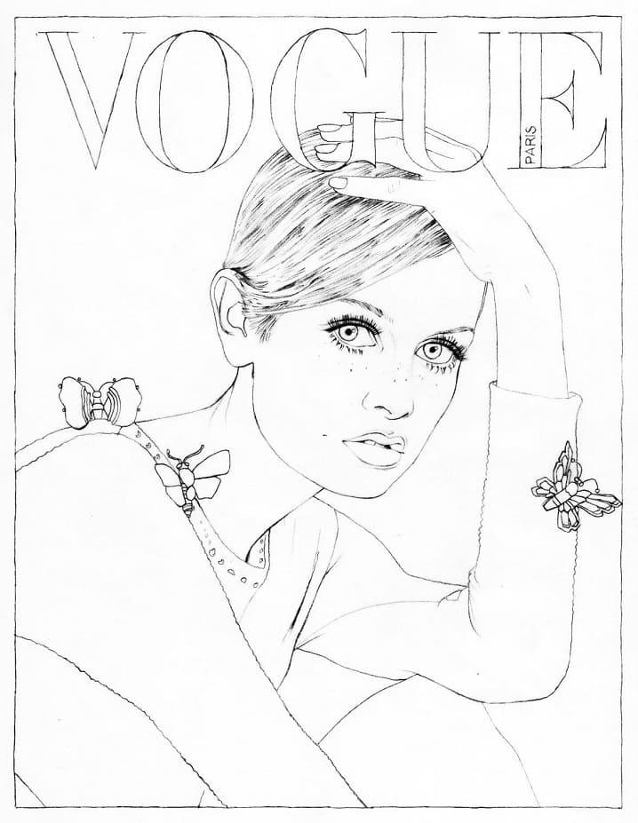 Magazine Cover Girl 2