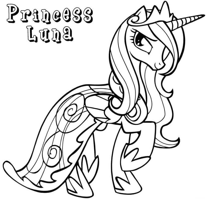 Magnificent Princess Luna