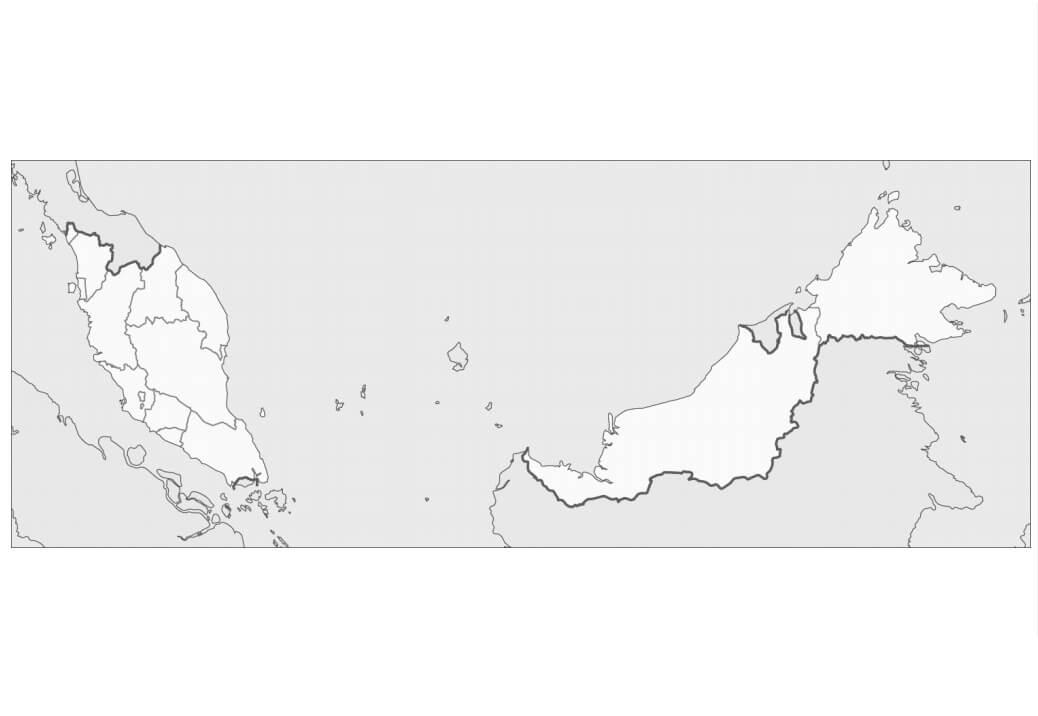 Malaysia's Map