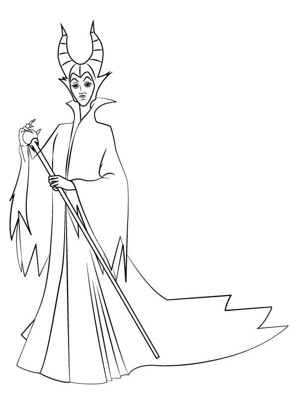 Maleficent from Kingdom Hearts