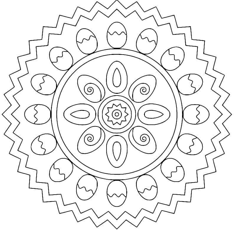 Mandala Easter 2