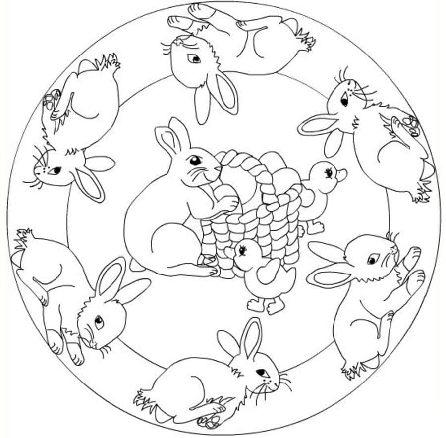 Mandala Easter 3
