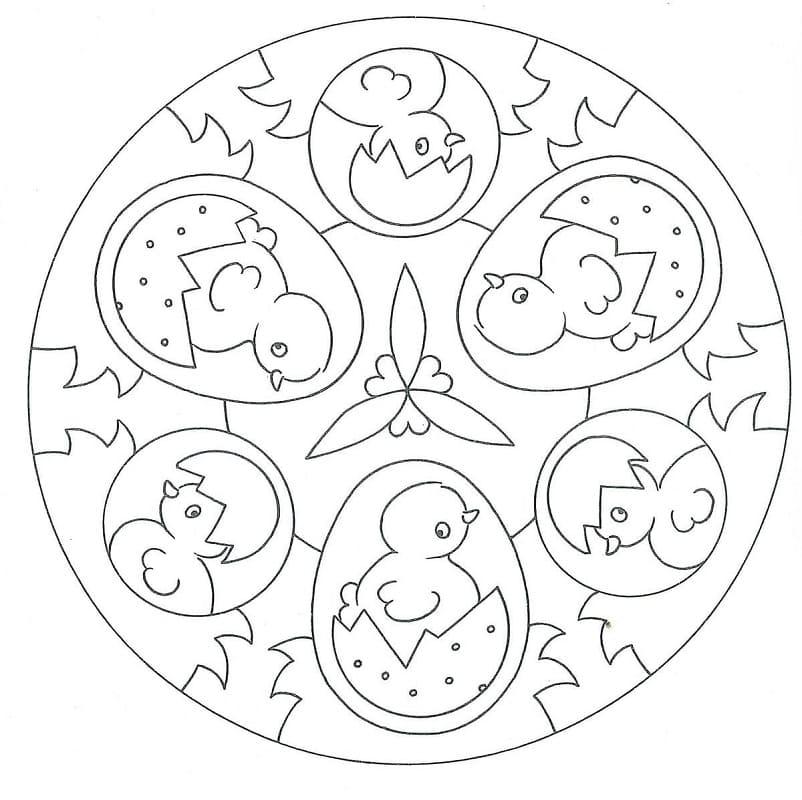Mandala Easter 4