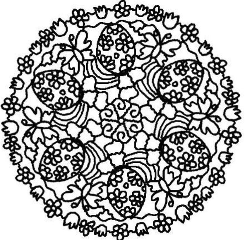 Mandala Easter 5