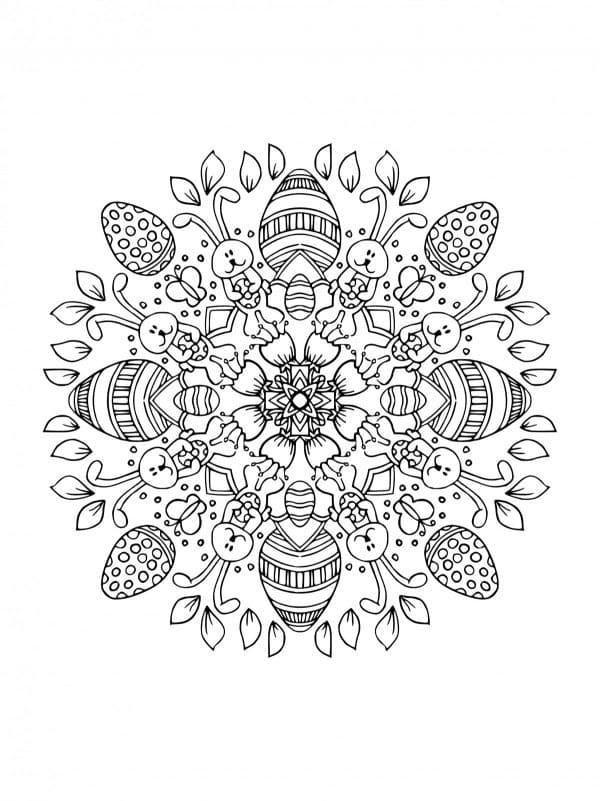 Mandala Easter 6
