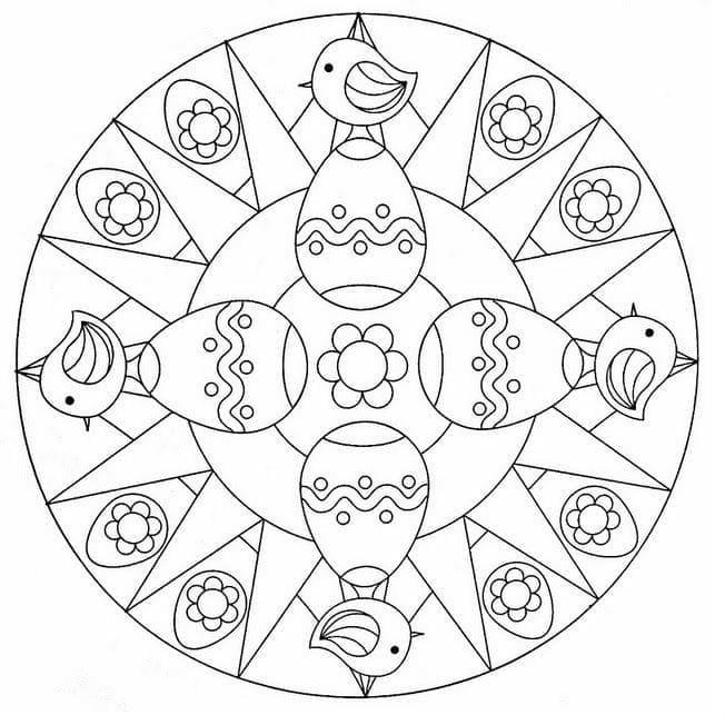 Mandala Easter