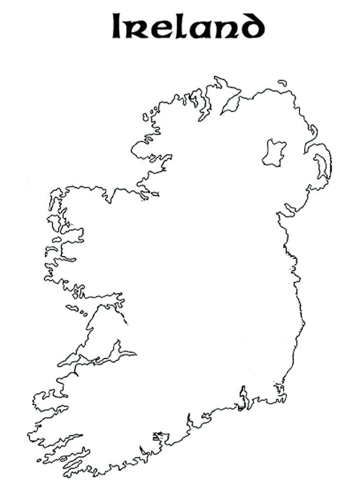Map of Ireland 1