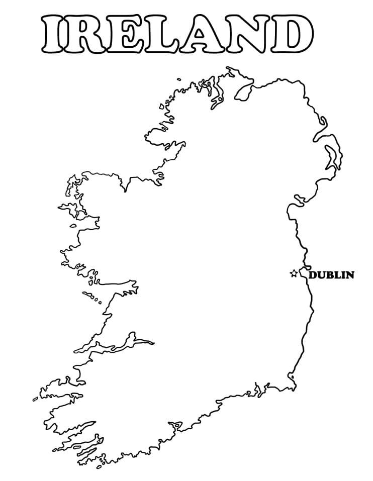 Map of Ireland 3