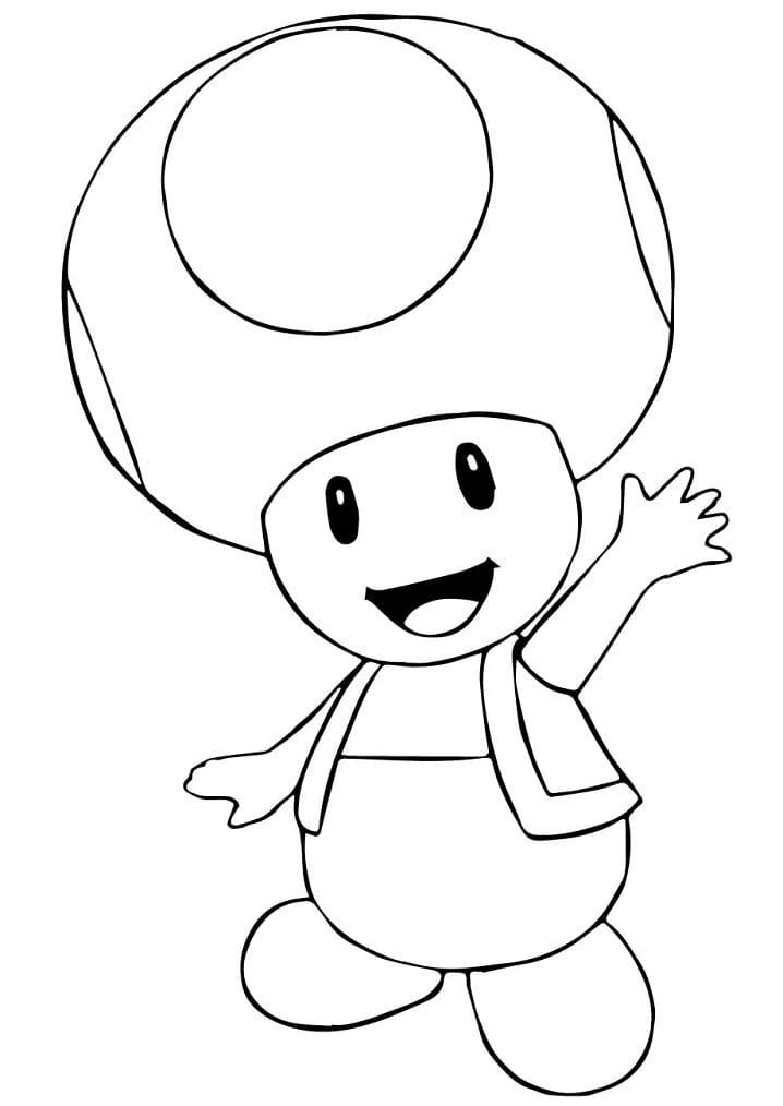 Mario Bros. Toad