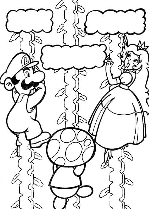 Mario Is Saving Princess