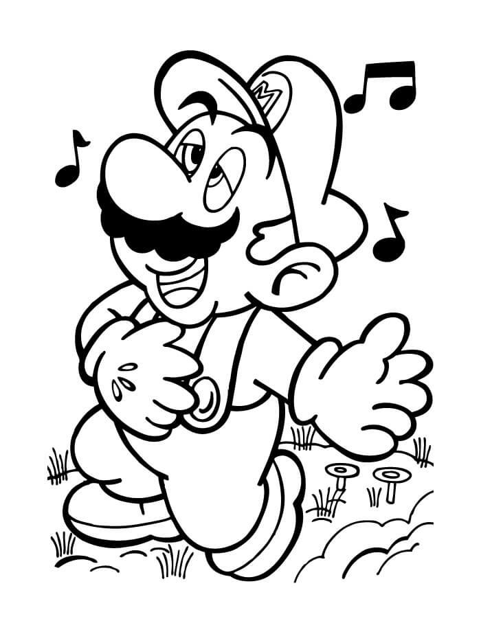 Mario Singing